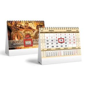 Печать и изготовление календарей Алматы. Настенные перекидные, отрывные.